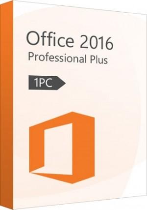 Microsoft Office 2016 Pro Professional Plus Key (1 PC)